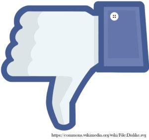 Negative Social Media Kommentare